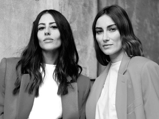 Italian designers Giorgia Tordini and Gilda Ambrosio