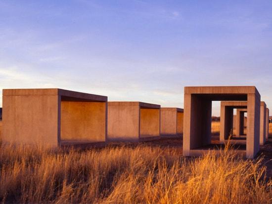 Donald Judd, 15 Untitled Works in Concrete, 1980-1984, Chinati Foundation, Marfa, Texas