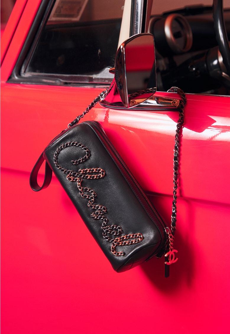 chanel spring-summer 2020 black bowling bag