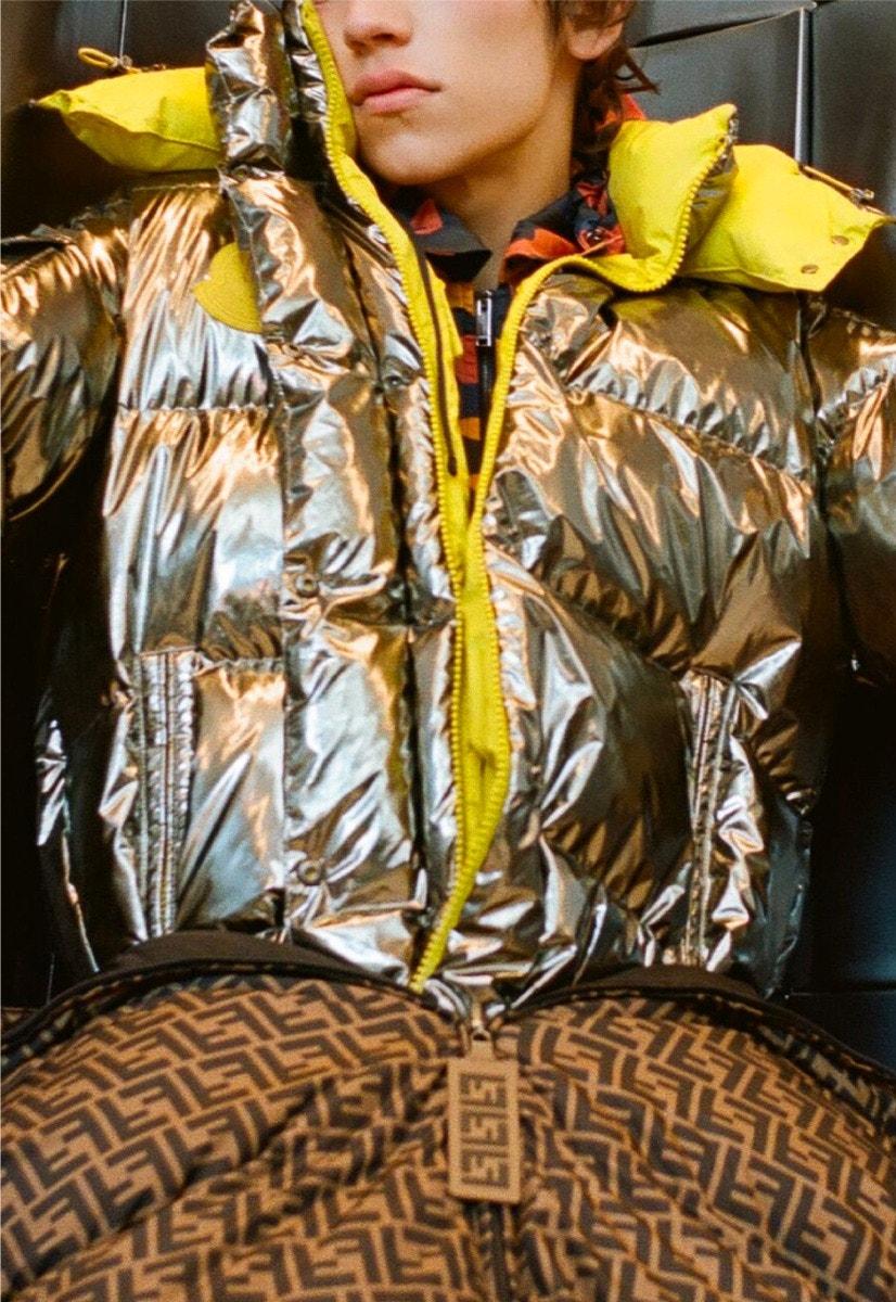 VALENTINO Shirt – MONCLER GENIUS Puffer Jacket – FENDI Puffer Jacket