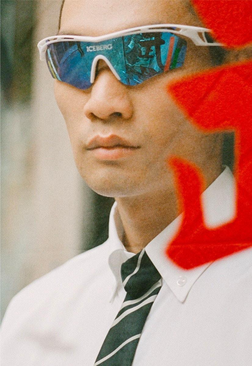 LINDA FARROW X ICEBERG Sunglasses