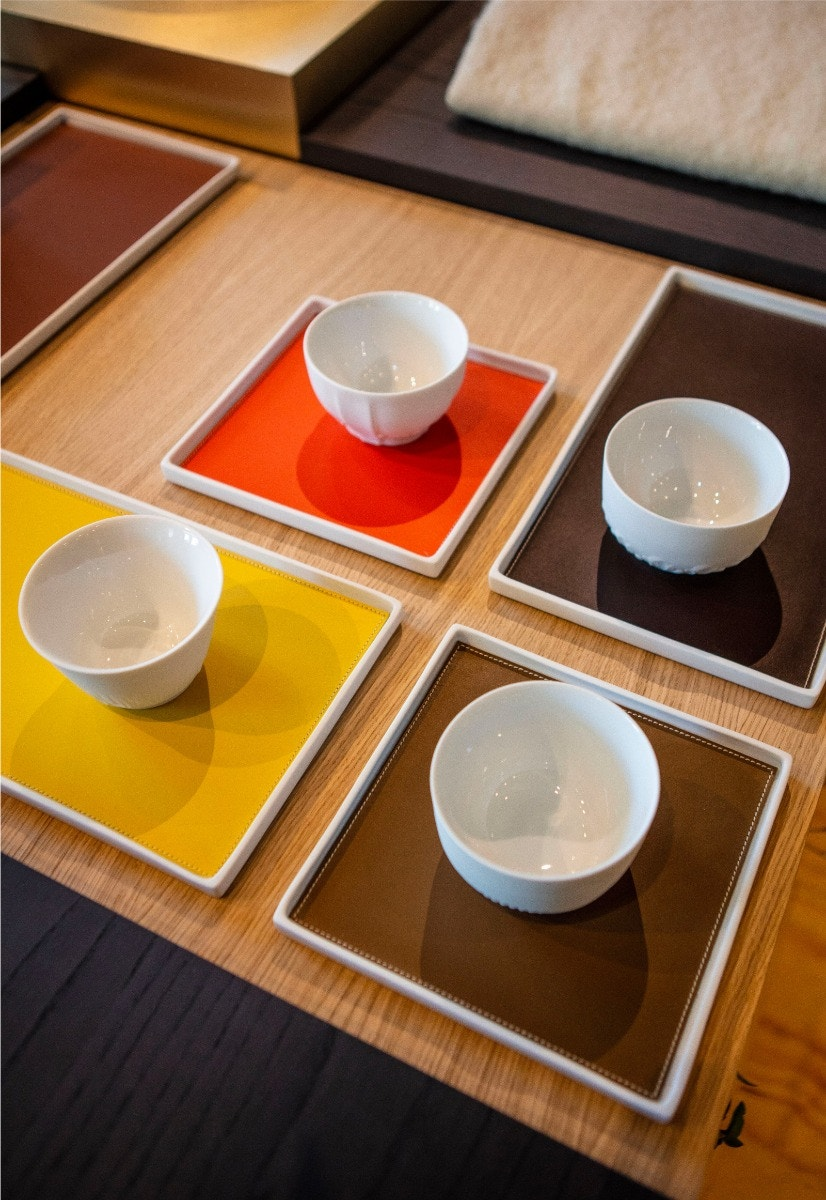 Rectangular Trays – Demoiselles Cups – Sunset Trays – Point Du Jour II Nesting Dishes