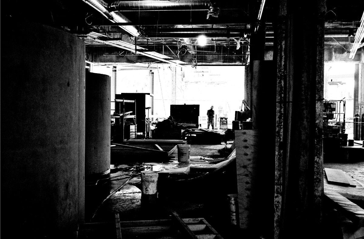 the webster la under construction