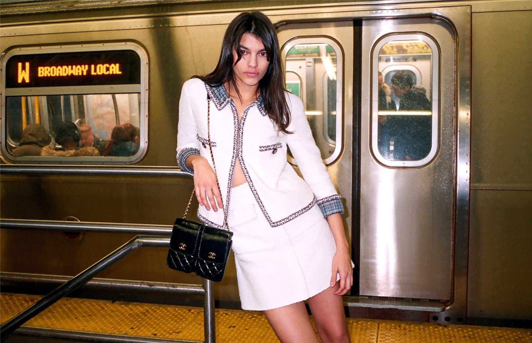CHANEL Jacket – Skirt – Clutch