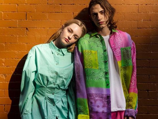 models wearing new natasha zinko and duo spring-summer 2020