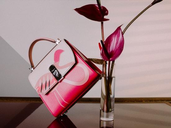 the webster exclusive salvatore ferragamo flamingo boxyz bag