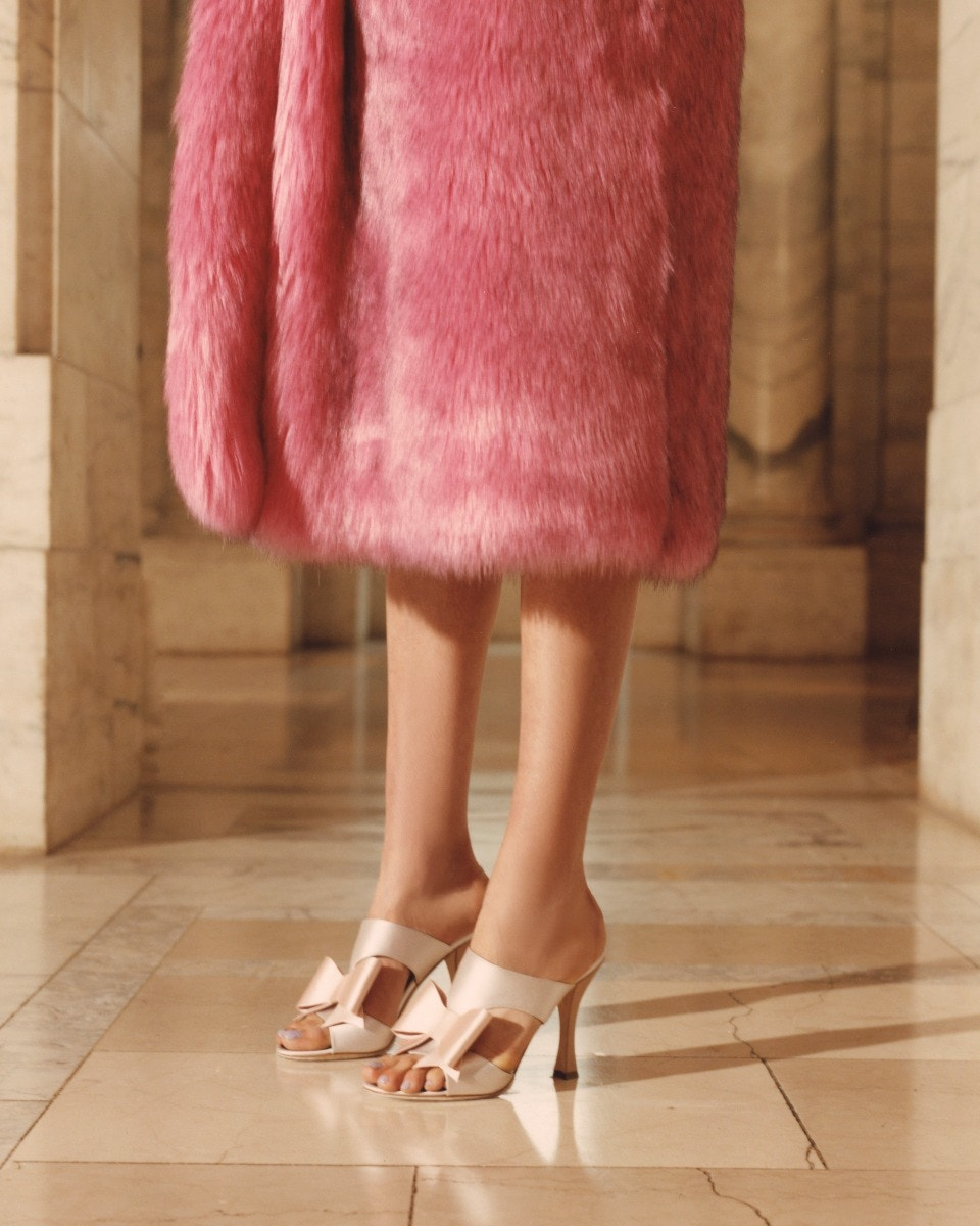 Fabrizio Viti High Sandals, Gucci Faux fur Coat