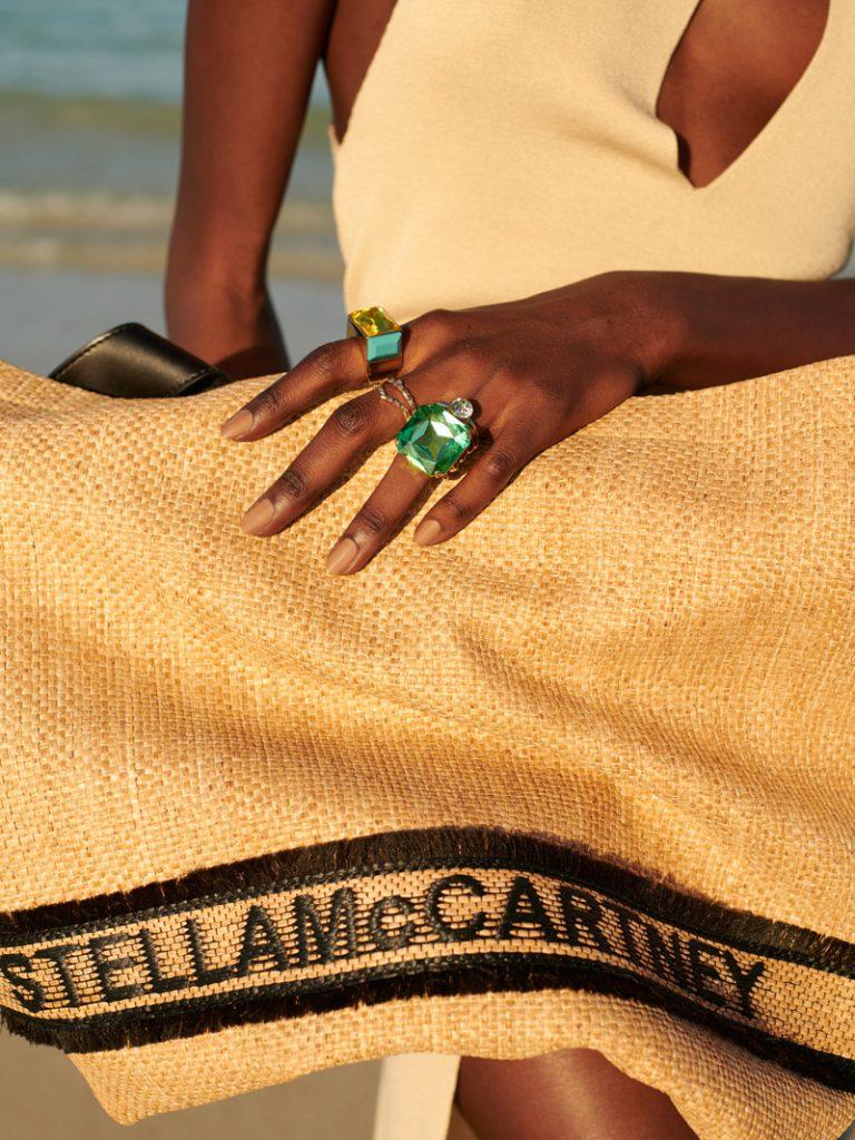 STELLA MCCARTNEY Woven Logo Tote bag, DRIES VAN NOTEN Ring