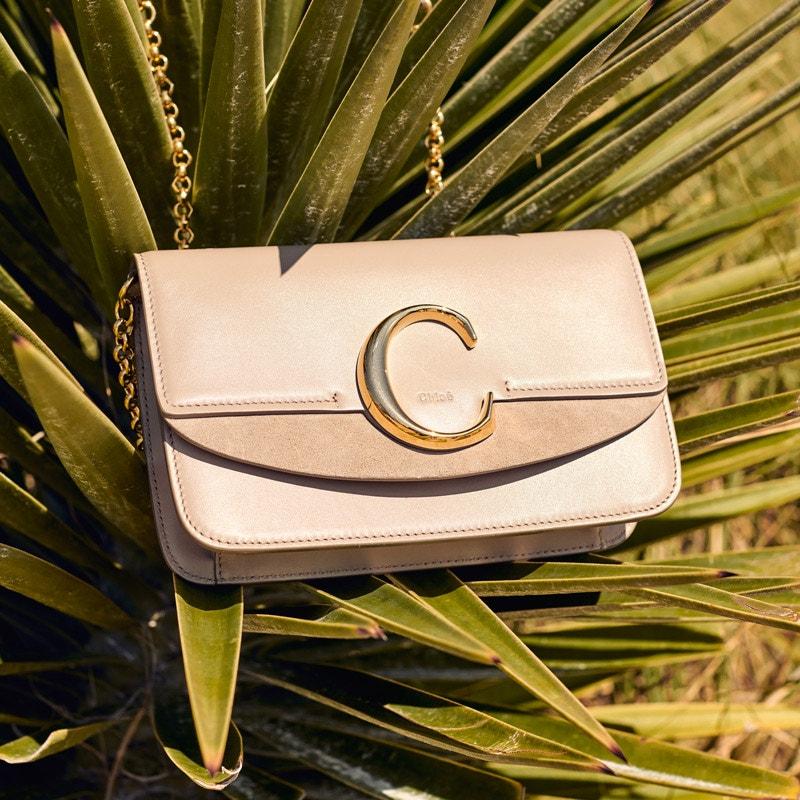 CHLOÉ C Mini Wallet Bag